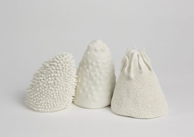 Debbie Hill - The Norns - Hand built Porcelain