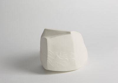 Debbie Hill - Ark#1 - Hand built etched Porcelain